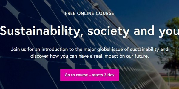 Sustainability, Society and You