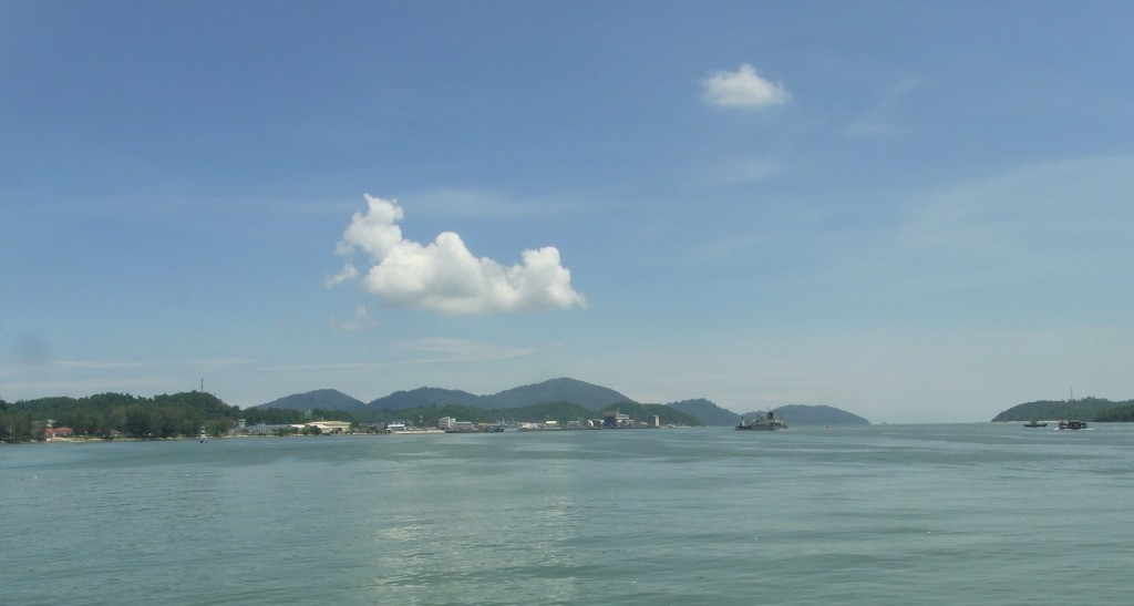 Pangkor from mainland