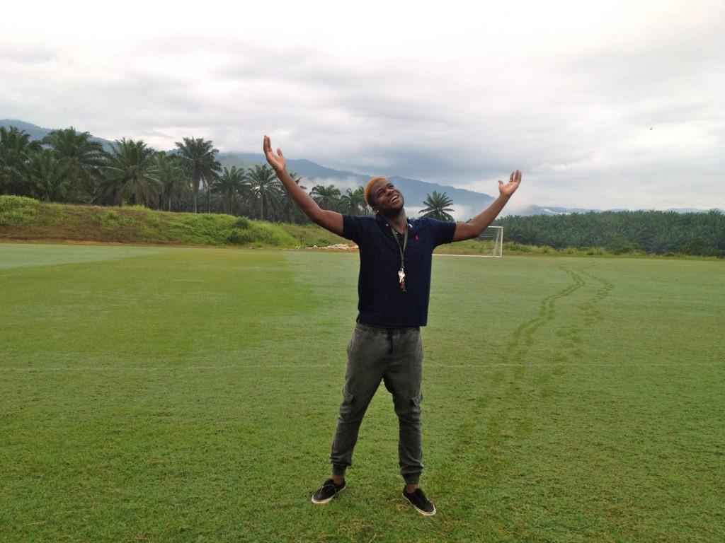 Ben Hunte Malaysia Field