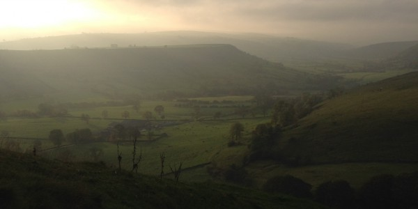 View from Fox Hole Cave towards upper Dove Valley