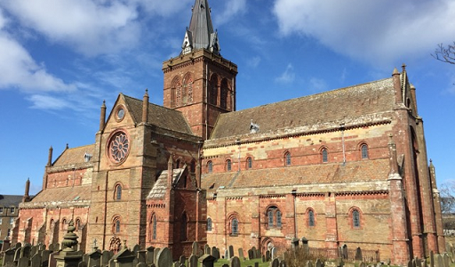 St Magnus Cathedral, Orkney. Photo by David Osborne
