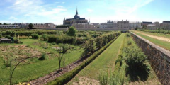 Panorama of the King's Kitchen Garden, Versailles
