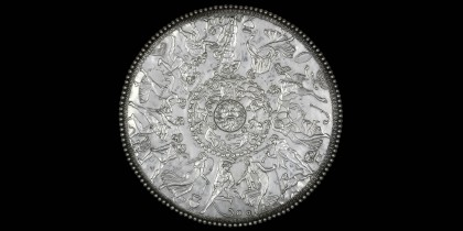 Great Dish from the Mildenhall Treasure.  ©Trustees of the British Museum.