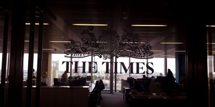 times sign