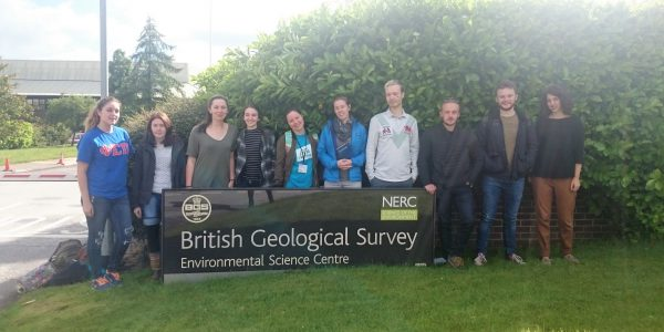 Isotope Investigators summer school at The British Geological Survey, Keyworth