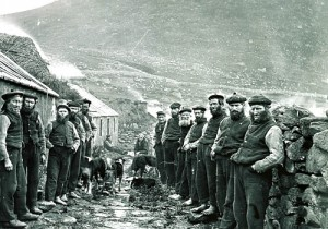 Photograph of the St Kilda 'Parliament' in 1886.