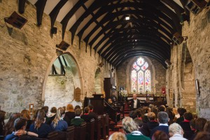 The dramatization of the diaries by Wyn Bowen Harries and Cwmni Pendraw was performed in Llanfechell Church (c) Vince Jones/C3W