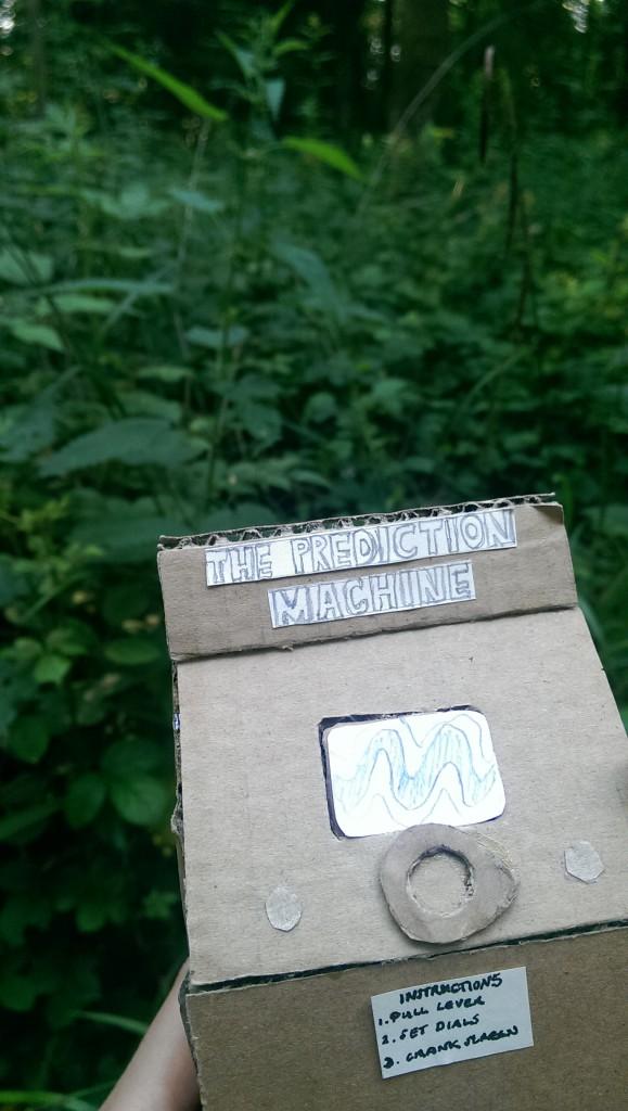 The Prediction Machine woodland workshop