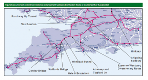 Source: Network Rail West of Exeter Resilience study, p. 16.