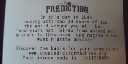 the prediction machine
