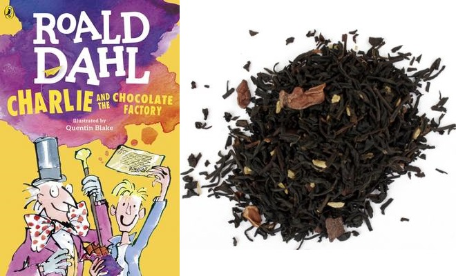 Charlie and the Chocolate Factory with Chocolate Truffle Tea