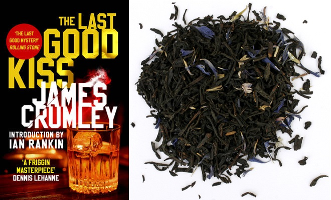 The Last Good Kiss with Earl Grey Blue Flower