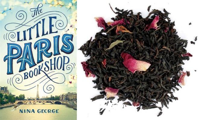 The Little Paris Bookshop with China Rose Tea