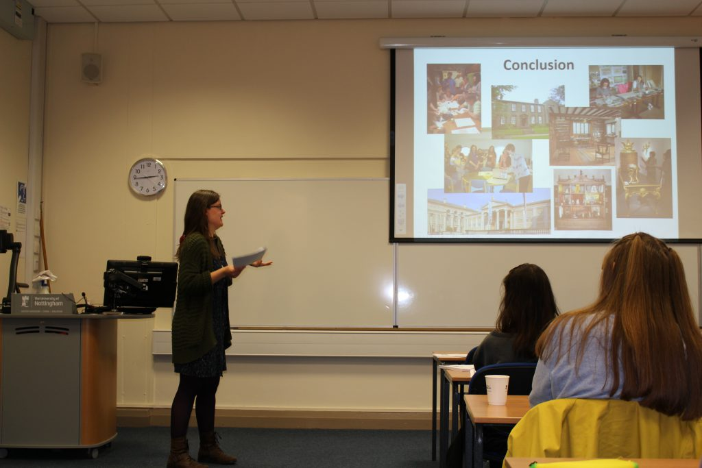 Eleanor Matthews rounds up her talk on getting into the Heritage sector