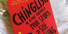 Book cover of Sue Cheung's Chinglish
